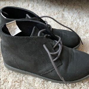 NWT Gymboree Cosmic Club Black Ankle Boots Girls 8,9,13,3,4